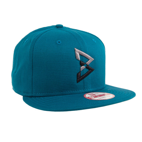 B Logo New Era Snapback Hat