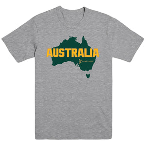Australia Relief Tee - Heather grey