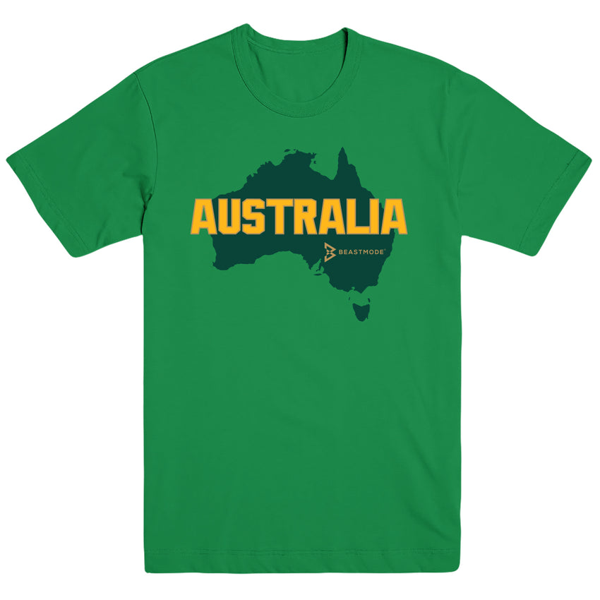 Australia Relief Tee - Kelly