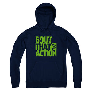 Bout that Action Hoodie - Navy