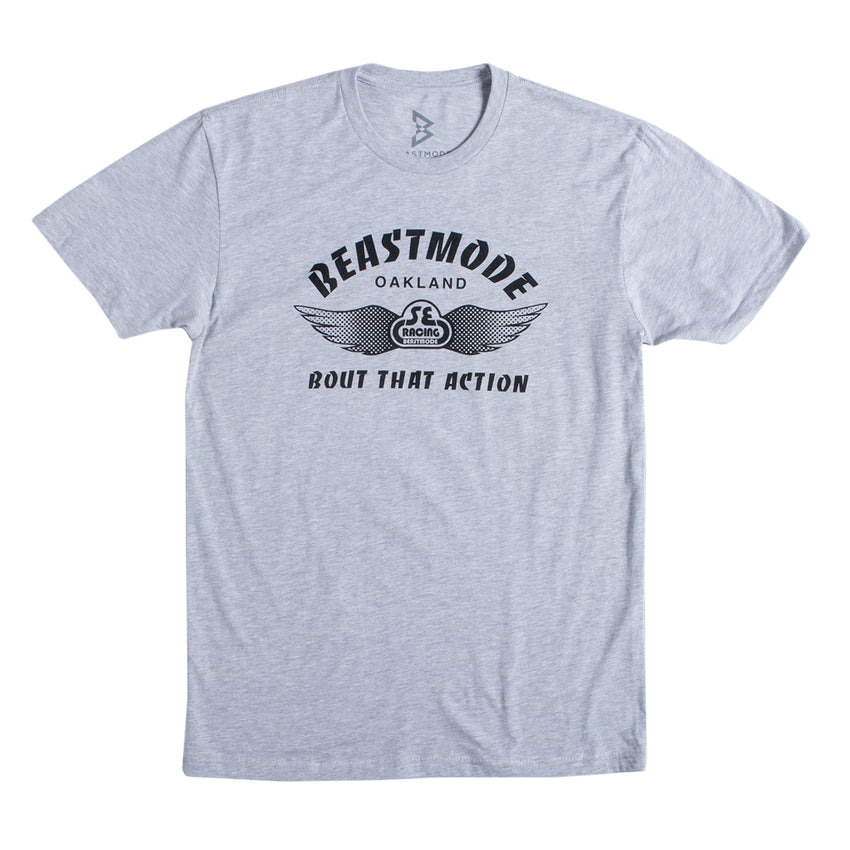 Beast Mode x SE Racing Bout That Action Tee