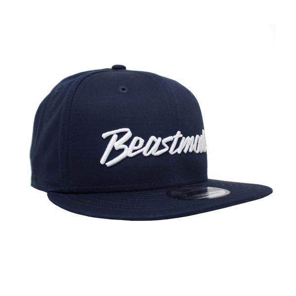 Script Shield Snapback Hat