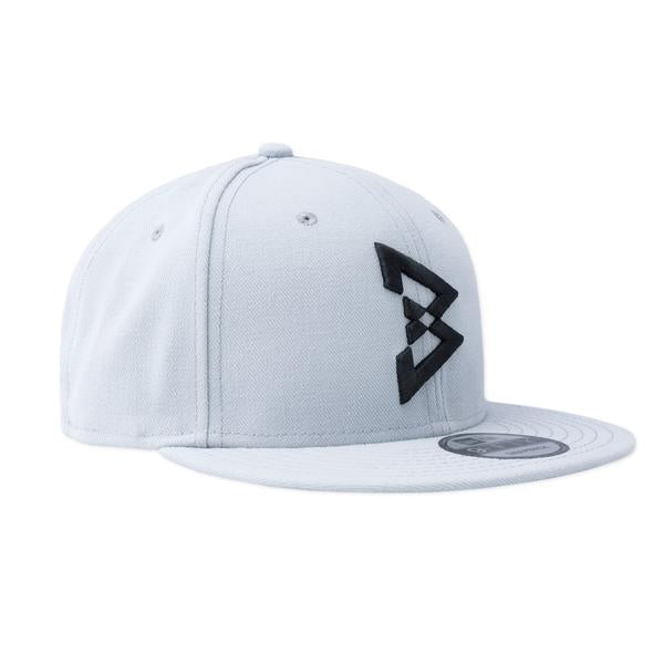 Block Text B Logo Snapback Hat