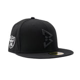 Tonal B Logo Fitted Hat