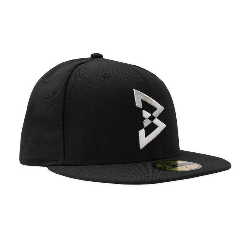 2 Tone B Logo Fitted Hat