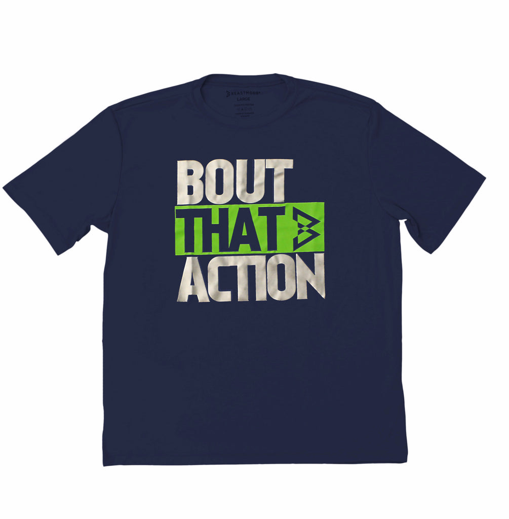 Bout That Action Performance Tee -  - 1