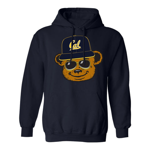 BEASTMODE x CAL BEAR HEAD HOODED SWEATSHIRT - Beast Mode® Apparel
