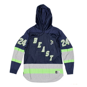 Shutout Pullover Hoodie in Navy