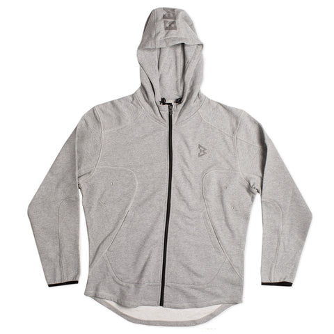 Action Zip Up Hoodie