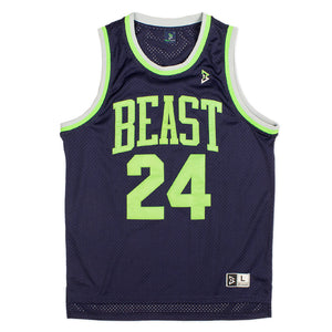 Fast Break Jersey in Navy Blue