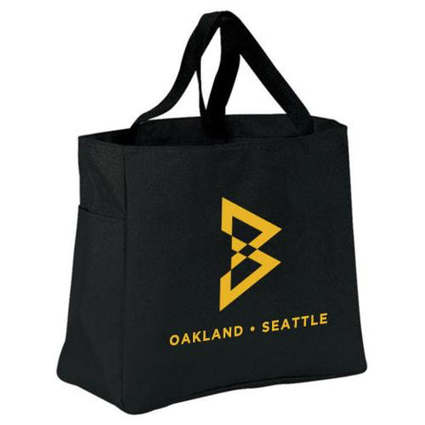 POS_Unisex B Log Tote Bag