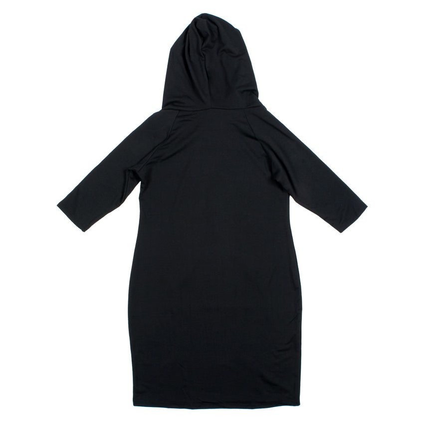 Lady Beast Plus Hooded Dress
