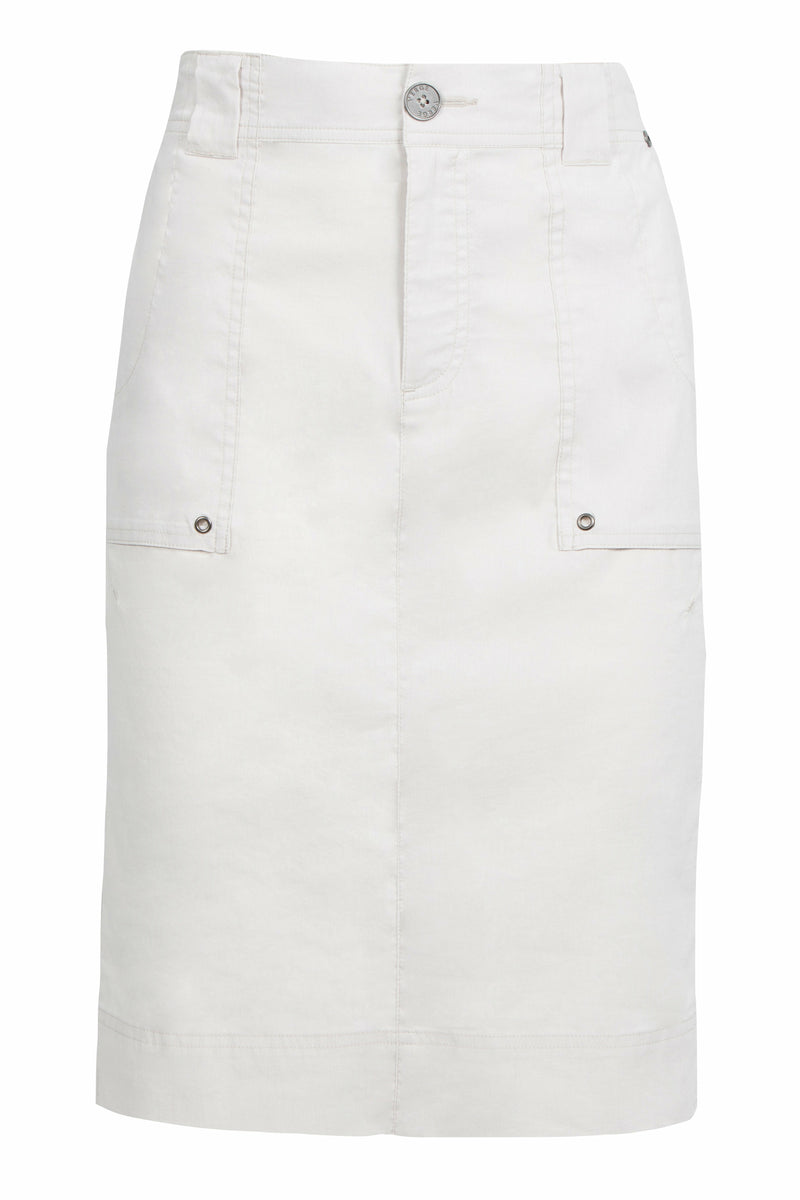 Verge Acrobat Legion Skirt - White