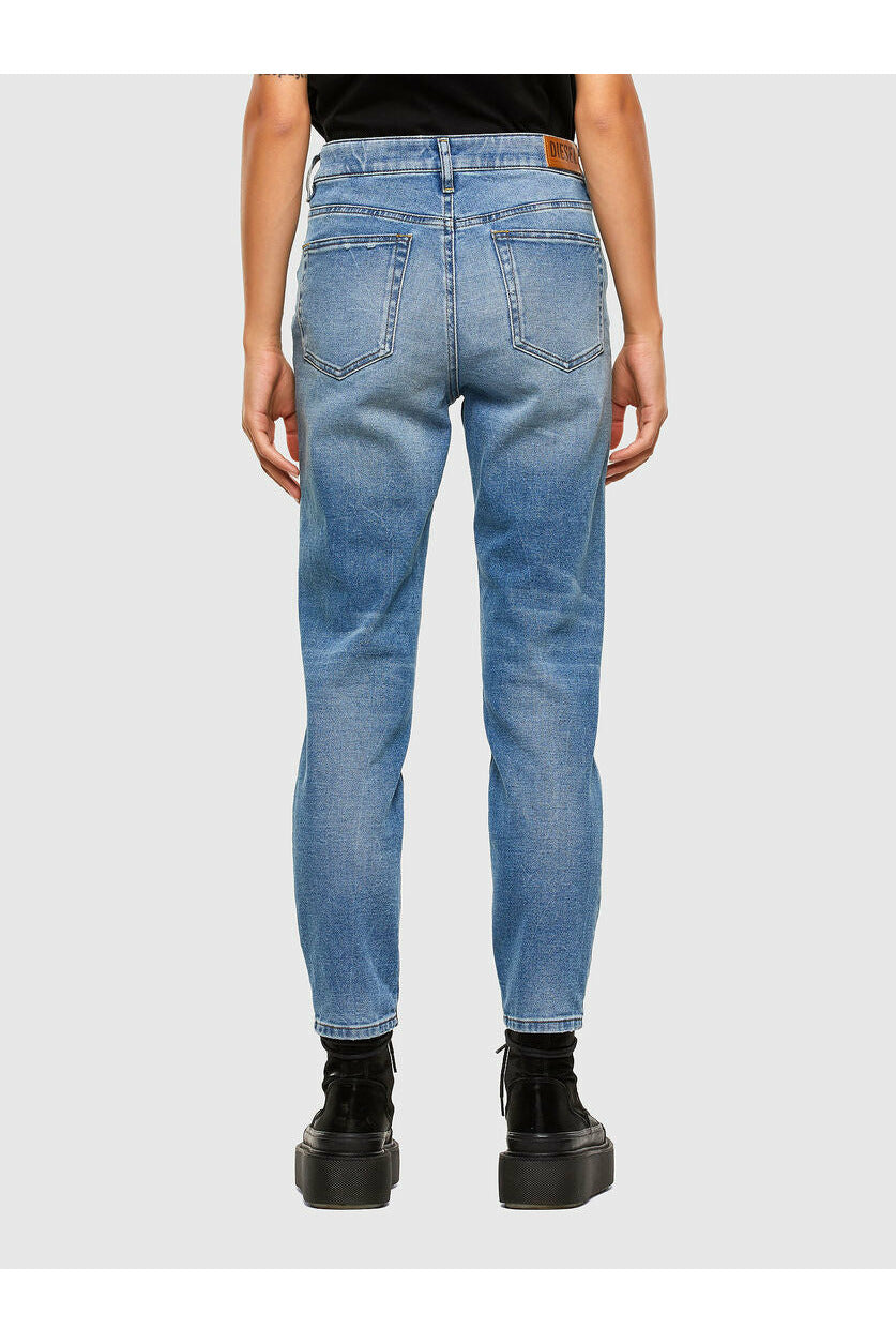 Diesel Joy Slim Regular Waist Jean - Blue Wash