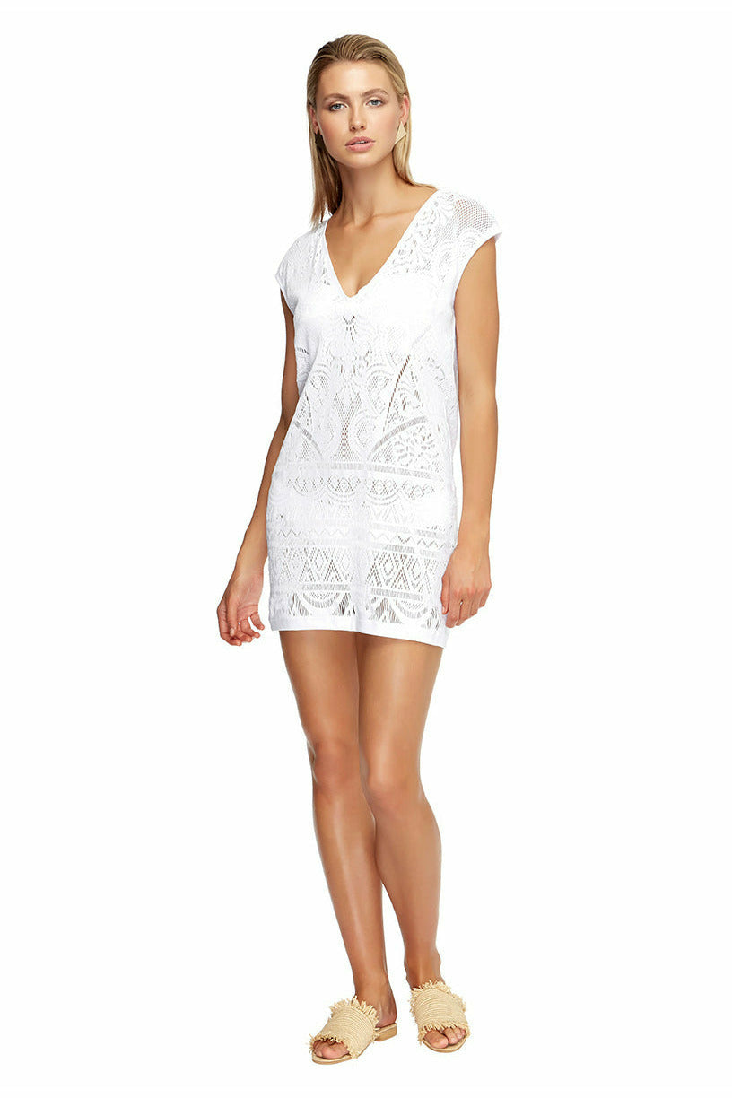 Jets Shift Dress 60157 - White