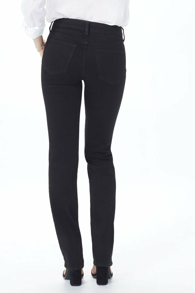 NYDJ Marilyn Straight Core - Black