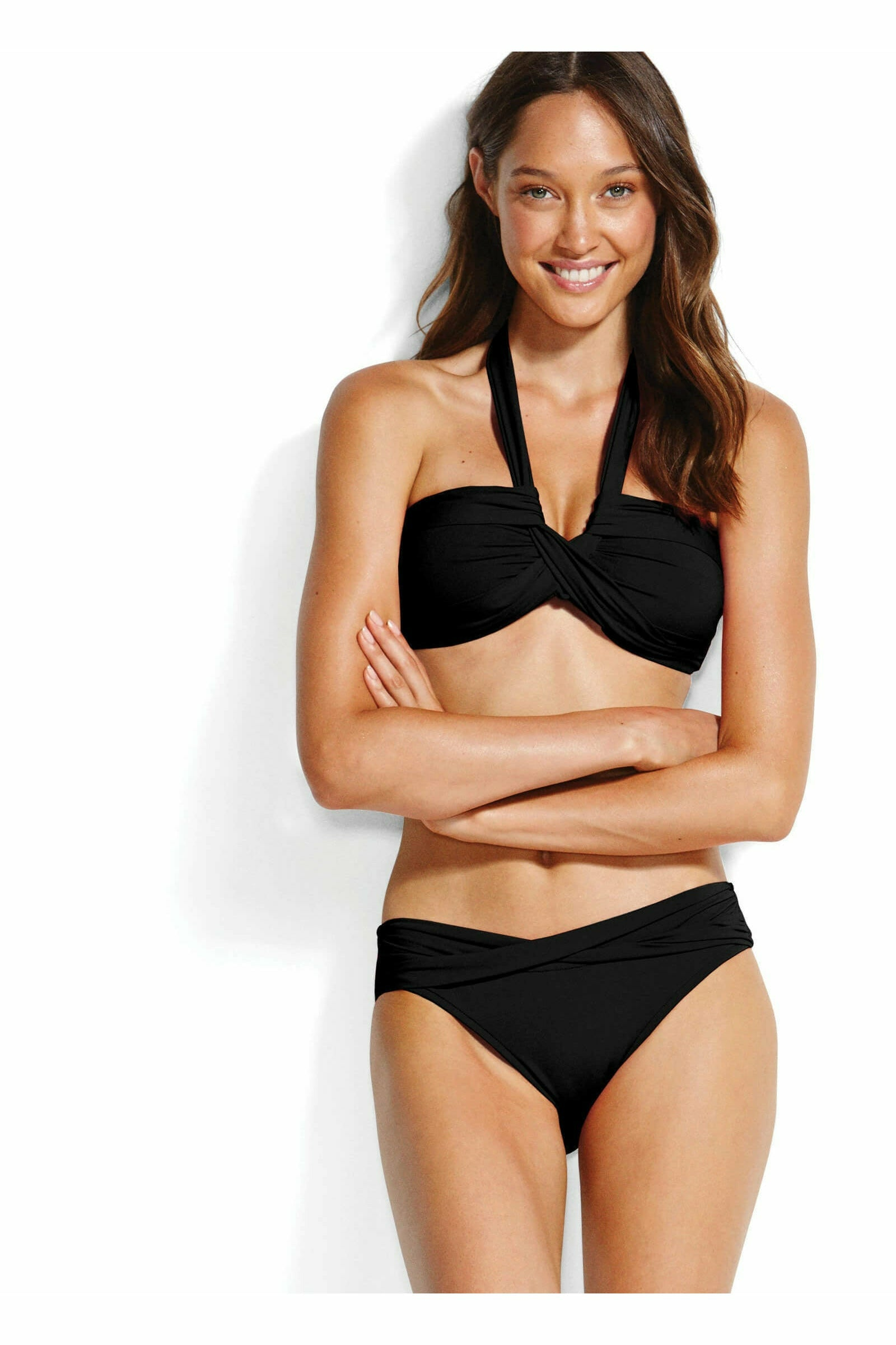 Seafolly Essential Bandeau - Black