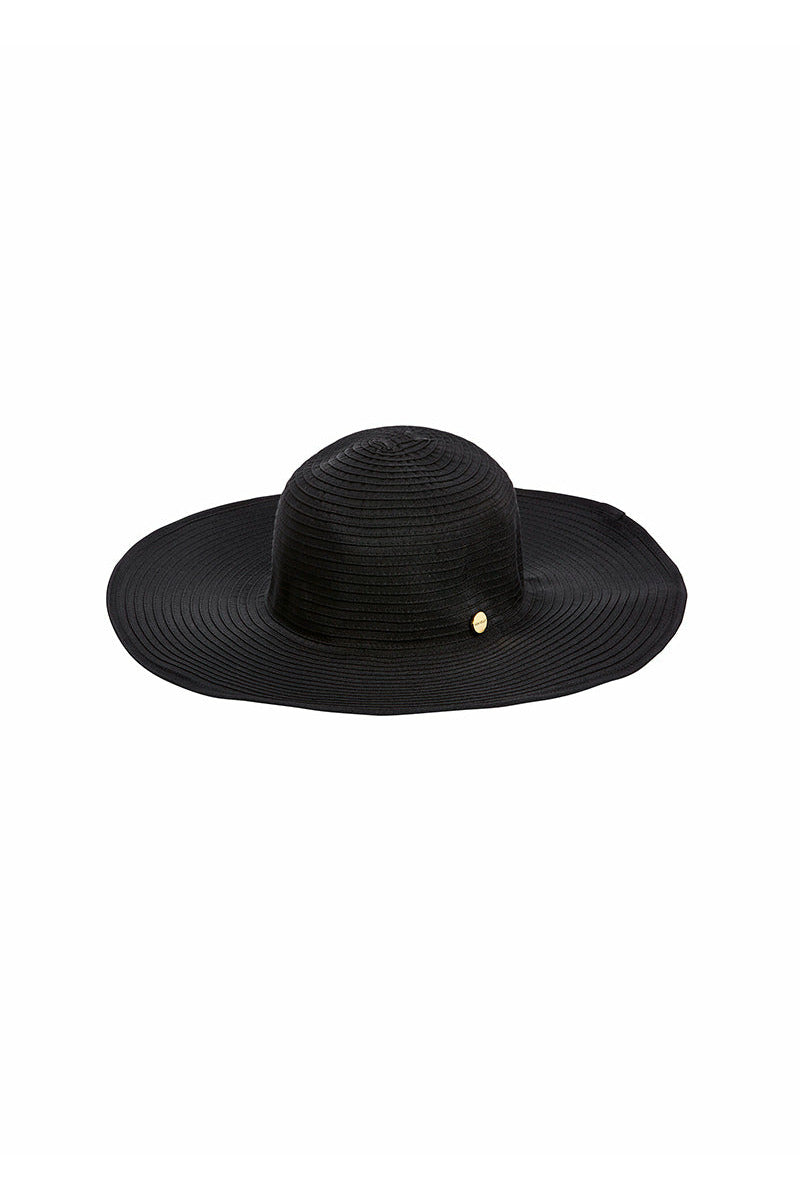 Seafolly-Lizzy Hat-Shady Lady - Black
