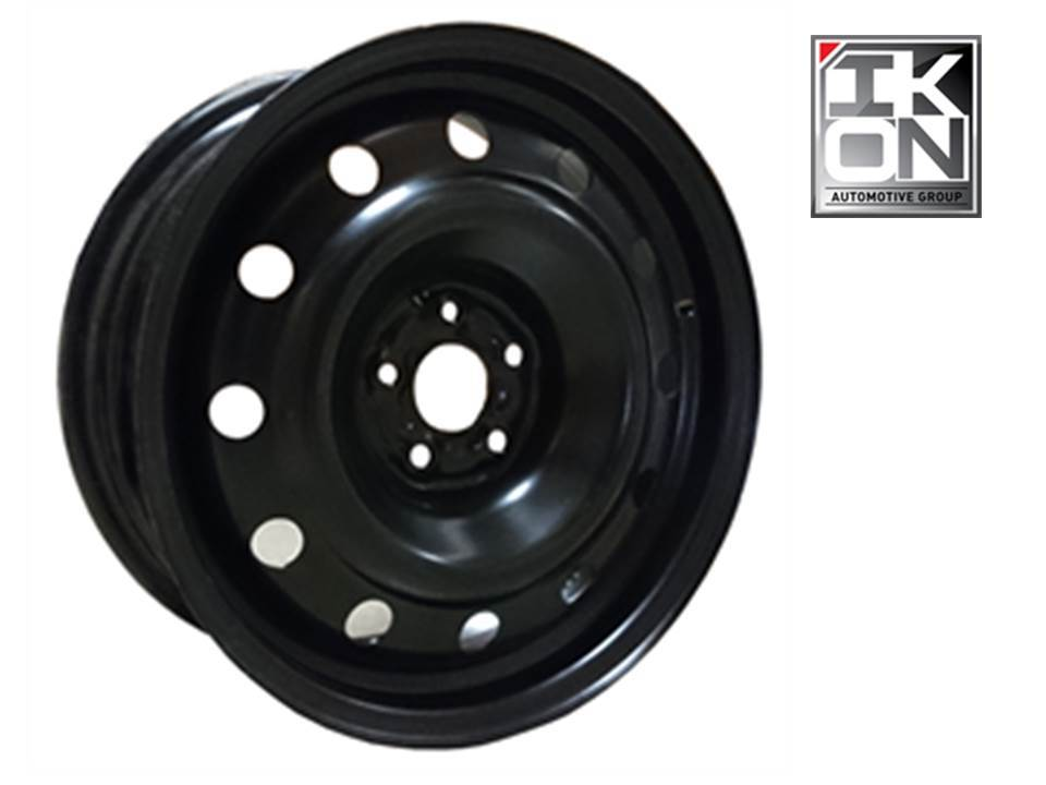 16X6.5 STEEL WHEEL WINTER BLACK PCD 5X114.3, CB-60.1, ET-45 -H-