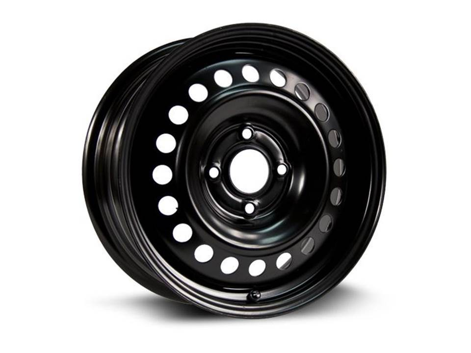 16X6.5 STEEL WHEEL WINTER BLACK PCD 4X114.3, CB-66.1, ET-45