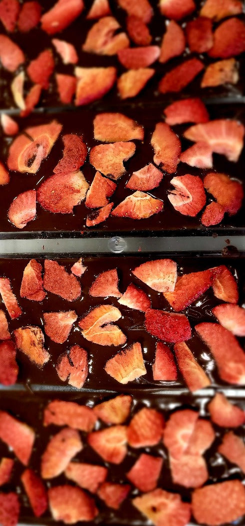 Strawberry Kissed Cocoa Bark - Sweetsmith Candy Co.