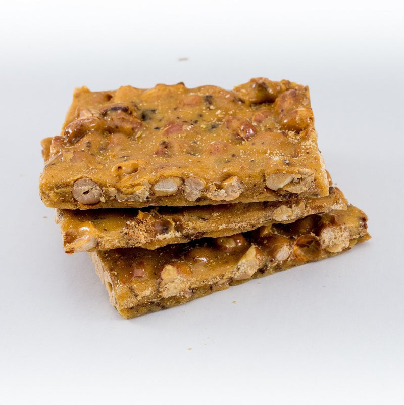 """  Smokey Bacon Peanut Brittle  "" - Sweetsmith Candy Co."