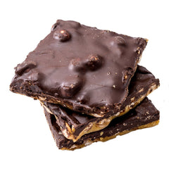 Sea Salt Chocolate Peanut Brittle - Canada Sweet Shop Ltd.