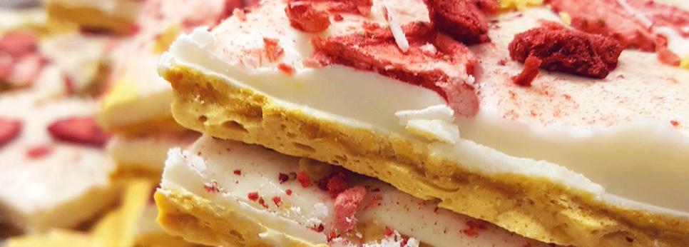 StrawBerry ShortCake Brittle