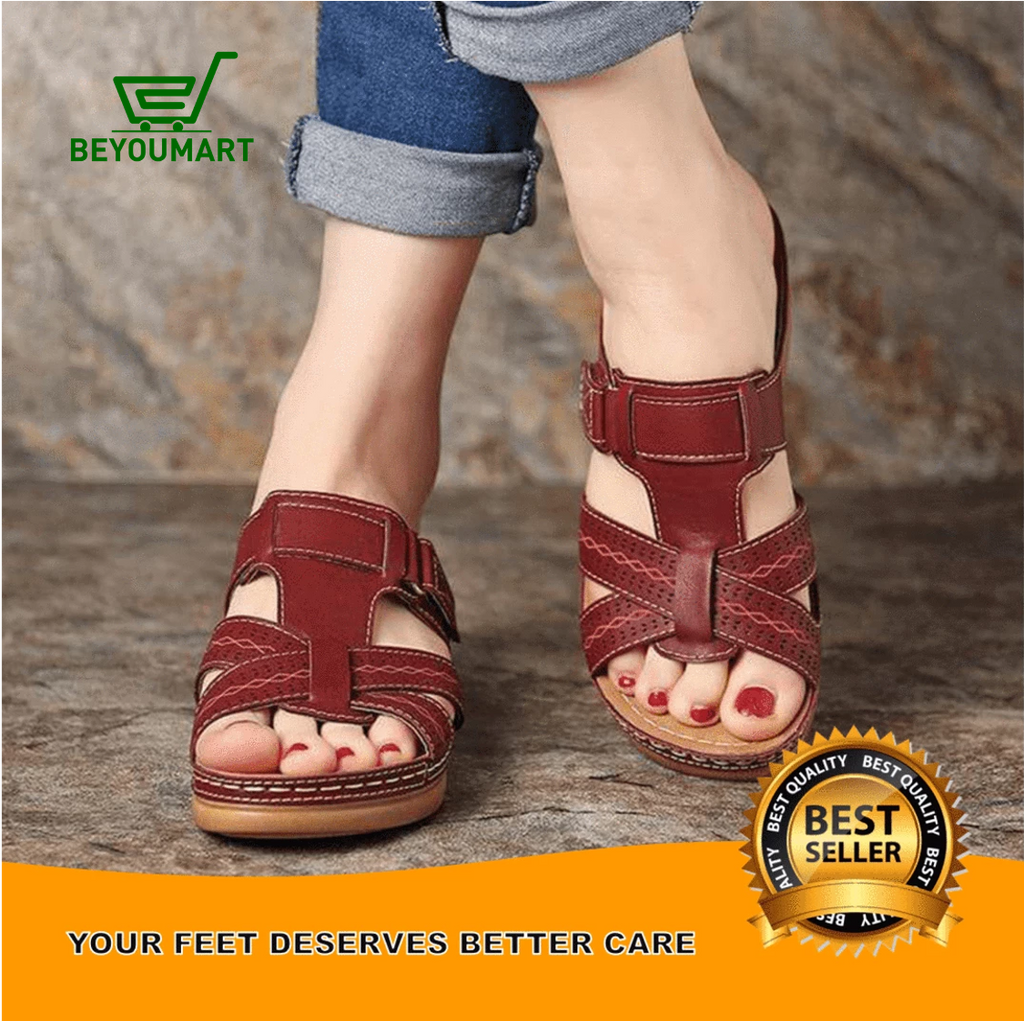 BY™ - Premium Orthopedic Feet Alignment Open Toe Women Sandals