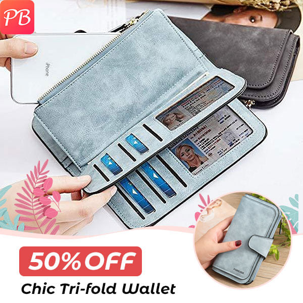 Retro Glamorous Multiple Slots Women Wallets (New Arrival)
