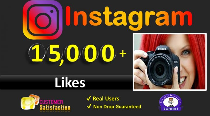 Get Instant 15,000+ Likes to Instagram Posted Picture / Video Likes, Real & Active Users,