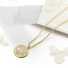 Load image into Gallery viewer, 2019 New Design Little Water Drop Pendant Necklace For Women With Round  Birthday Jewelry Romantic Elegant Gift YIN067