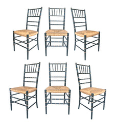 Banquet Chairs of Faux Bamboo Form
