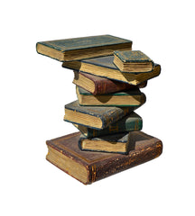 Faux Book Stack Endtable