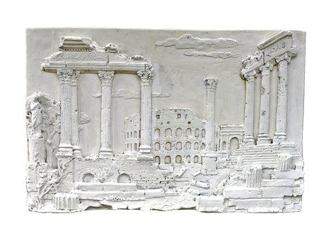Classical Plaster Relief Wall Hanging