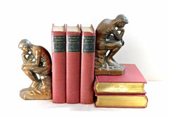 Thinkers Bookends and Red Books