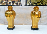 Vintage Tassle Form Lamps in Gold