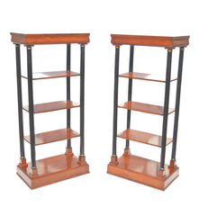 Pair of Regency Styled Etagere.