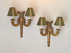 19th Century French Gilt Wood Sconces