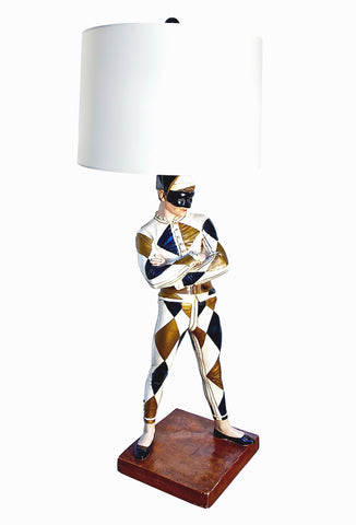 Harlequin Lamp by Marbro Lamp Company