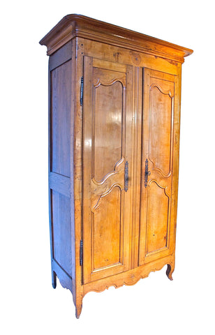 18th Century Fruitwood Armoire