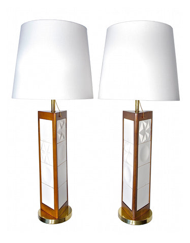 MCM Lamps Attributed to Saul Bass