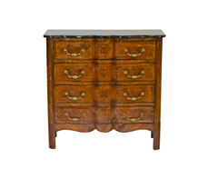 Italian Louis XV Styled Marquetry Commode