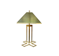 Modern Brass Lamp by C. Jere.