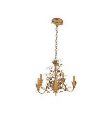 Sweet Tole' Painted Chandelier