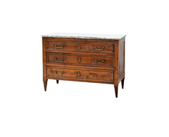 French Directoire Chest of Pine Circa 1820