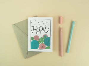 Christmas Card BULK BUY (10 Pack) - 100% Recycled Greeting Cards + Envelopes