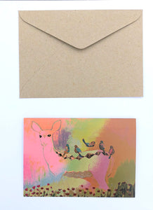 Deer 100% Recycled Greeting Card