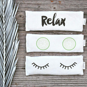 'Relax' Eye Pillow
