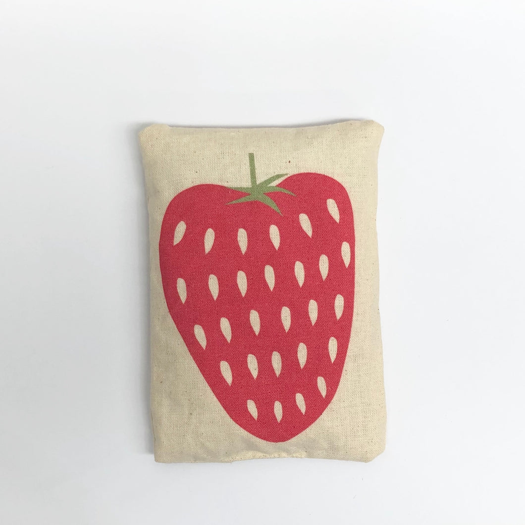 Mini Rice Bag - Strawberry